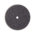 "Silicone Wheels - Medium - Square - Dark Grey - 7/8"" (10PK)"