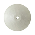 "Silicone Wheels - High Shine - Knife - Light Grey - 7/8"" (10PK)"