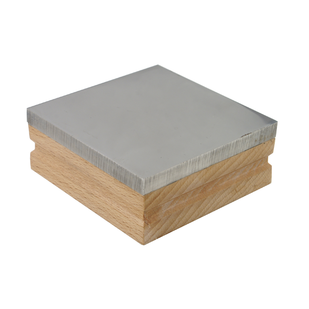 Bench Block With Wood Base 3 Inches