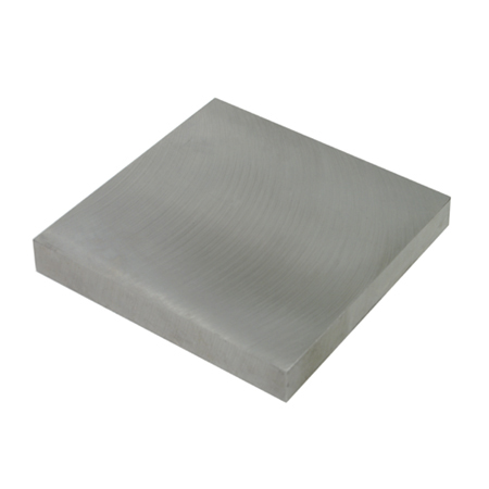 Steel Bench Block 4 Inch Square Flat Metal Forming Block For Jewelry Making
