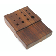 Rosewood Draw Plate 1.2mm-6.5mm