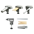 Bench Anvil Combo Kit - Bracelet and Ring Mandrels, Anvil, V Slot Bench Pin