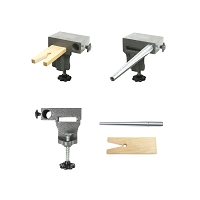 Bench Anvil Basic Combo Kit -Ring Mandrels, Anvil, And V Slot Bench Pin