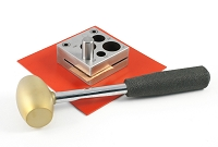 Round Disc Cutter Kit with Hammer and Pad