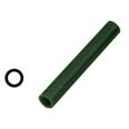 "Ferris Wax, File-A-Wax Ring Tube, Center Hole, Green, 7/8"" Diameter"