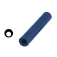 "File-A-Wax Ring Tubes - BLUE Round - Off-Center Hole - 1-1/16""OD Hole Diam. 5/8"""