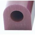 Ferris Wax, File-A-Wax Ring Tube, Flat Side With Hole, Purple, 1-5/16x1-3/16""