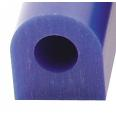 Ferris Wax, File-A-Wax Ring Tube, Flat Side With Hole, Blue, 1-5/16x1-3/16""
