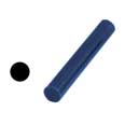 "Ferris Wax, File-A-Wax Ring Tube, Solid Bar, Blue, 7/8"" Diameter"