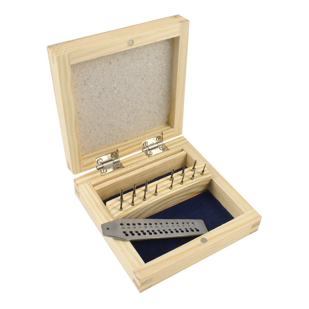 Tap And Die Set 15 Pcs In A Wooden Box