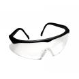 Safety Glasses - Clear Black Frame