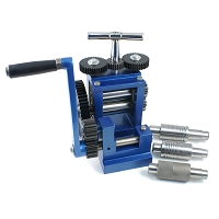 Rolling Mill with 5 Rollers - Pattern, Flat, and Wire