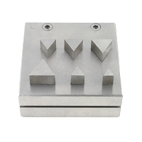 Triangle Disc Cutter Punch Set of 6