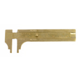Brass Slide Gauge 80mm