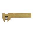 Delux Brass Slide Gauge 80mm