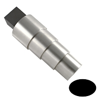 Bracelet Mandrel 4  Stepped With Tang - Oval