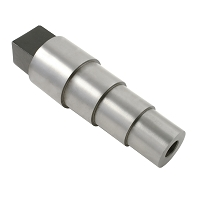 Bracelet Mandrel 4  Stepped With Tang - Round