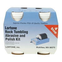 Lortone Polishing Compound 4- Step Kit