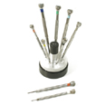 Watch Repair Screwdrivers Set of 9 in Rotating Stand