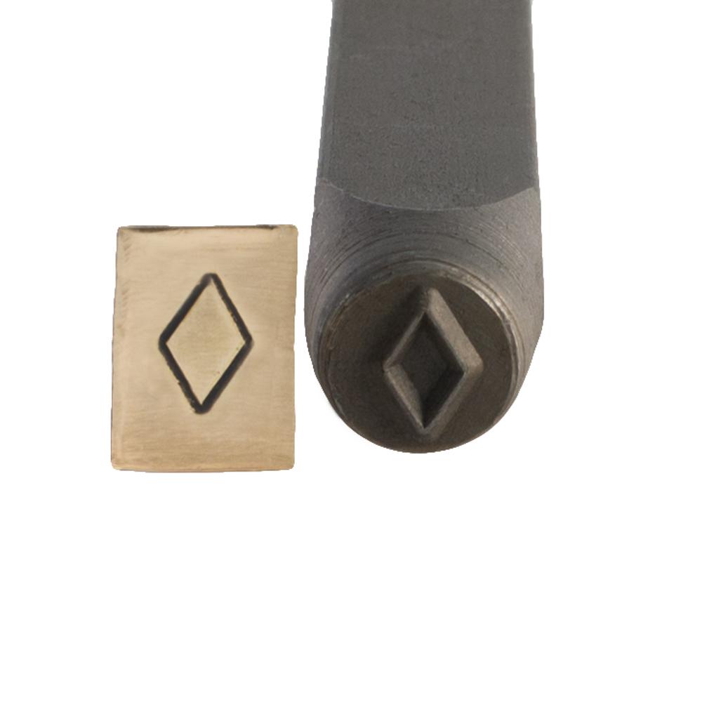 Diamond stamp 6 mm for Diamond stamp on jewelry