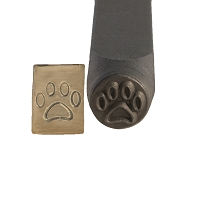 Paw Print Stamp 6 mm