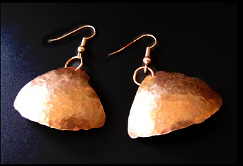 Basic Copper Earrings