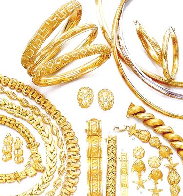 Gold Jewelry Assortment