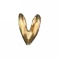 Rabbit Ear Bail Extra Large Heavy 14K Yellow Gold