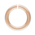 OPEN JUMP RING 4mm/22G Rose Gold Filled - 10 PK