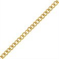 Gold Filled Curb Chain by the Foot - 1.5 mm