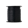 Black Leather Indian String Cord 1.5MM by Yard