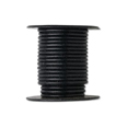 Black Leather Indian String Cord 3mm Sold by the Yard