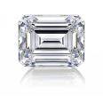 White Cubic Zirconia - Emerald Cut - 5X3,9X7,12X10 - 2PC Packs