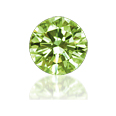 Peridot Cubic Zirconia - Round 5pc packs - 4.00mm