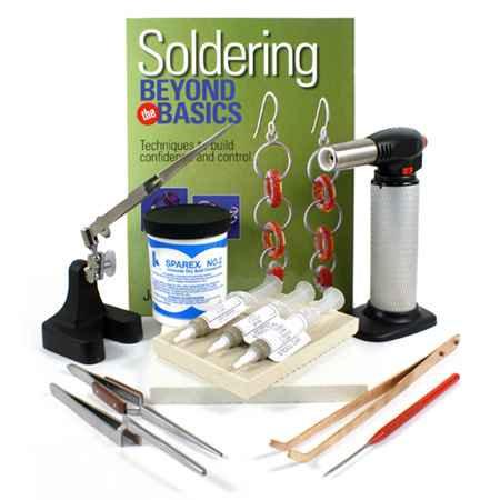 Advance Soldering Kit With Silver Solder Paste Torch And