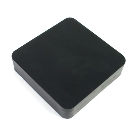 Rubber Bench Block 4x4x1 inch