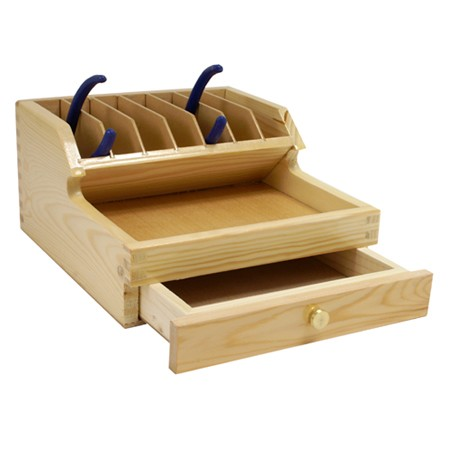 Plier Rack Organizer with Drawer