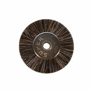 "Brushes - Unmounted Wheel - 3/4"" Soft - 1/8"" (12/pkg)"