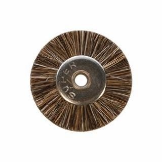 "Brushes - Unmounted Wheel - 3/4"" Medium - 1/8"" (12/pkg)"