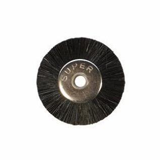 "Brushes - Unmounted Wheel - 3/4"" Stiff - 1/8"" (12/pkg)"