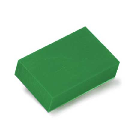 Ferris Wax, File-A-Wax, 1 Pound Bar, Green