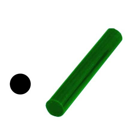 "Ferris Wax, File-A-Wax Ring Tube, Solid Bar, Green, 7/8"" Diameter"
