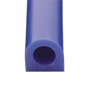 "File-A-Wax Ring Tubes - BLUE Flat Side -  1-1/8""H x 1-5/8""W  Hole Diam.5/8"""
