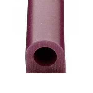 "File-A-Wax Ring Tubes - PURPLE Flat Side -  1-1/8""H x 1-1/8""W  Hole Diam. 5/8"""