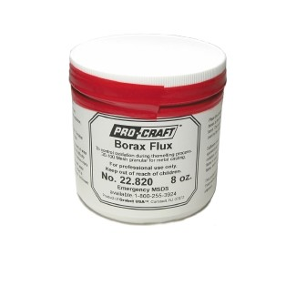 Flux - Borax -  8 oz.
