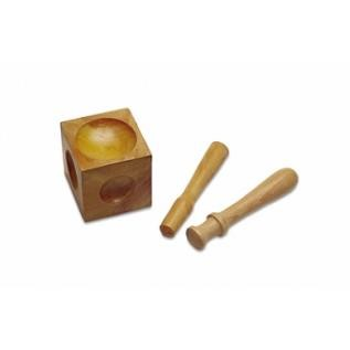 Wood Dapping Set - 2 Punches