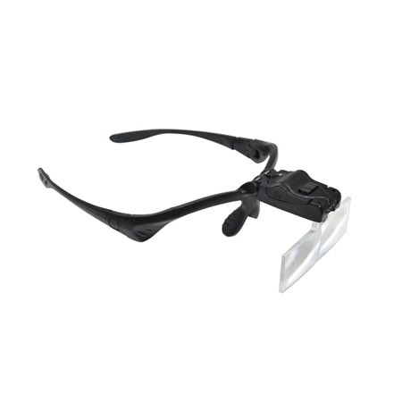 LED Magnifier Glasses with 5 Lenses