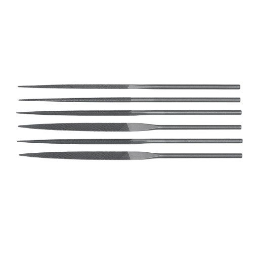 Teborg 6-pce Needle File Set, Fine