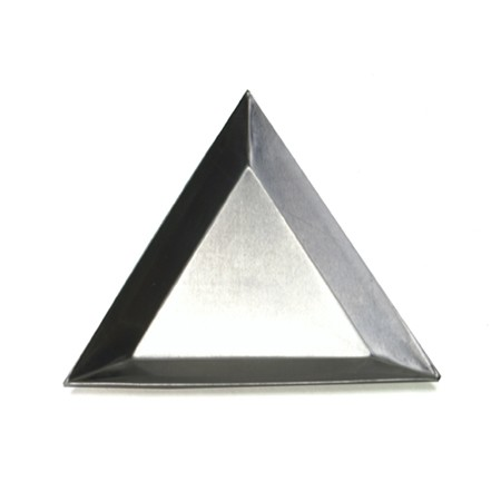 Aluminum  Small Triangular Trays 10 pack