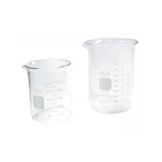 Grobet USA Glass Beakers 250ml 600ml & 1000ml